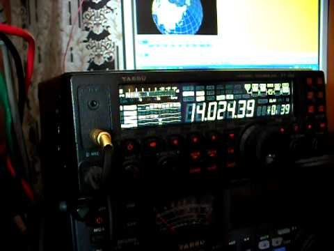 FT-450.AVI  RA0UF/RA0QN QSO