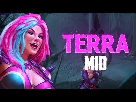Terra Mid: BUFFED TERRA IS THE BEST GOD IN THE GAME! - Incon - Smite