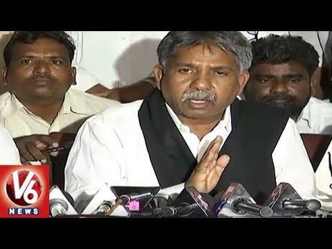 Manda Krishna Madiga Demands TS Govt To Lift Expulsion On Kathi Mahesh   V6 News