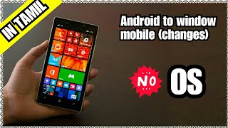 How to change android mobile to windows phone or how to download pc files manager {tamil}