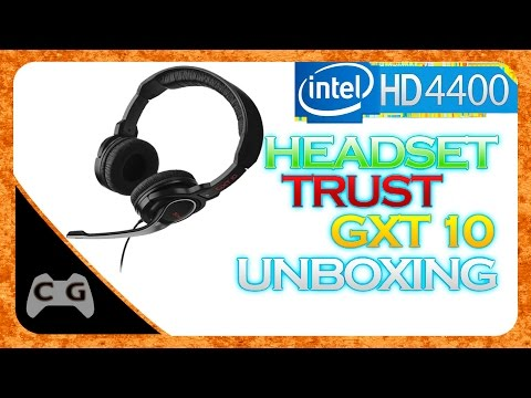 Unboxing + Review Headset TRUST GXT 10 Deep Bass Gaming