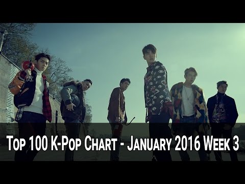 Top 100 K-Pop Songs Chart - January 2016 Week 3