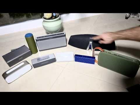 Bluetooth Speaker Comparison 2014 [4K]