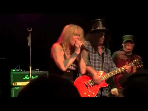 Lita Ford And Slash - Black Leather (sex Pistols),  Whisky In Los Angeles 01-09-2013 video