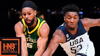 USA vs Australia - Exhibition Game - 1st Half Highlights | August 22 | 2019 USA Basketball