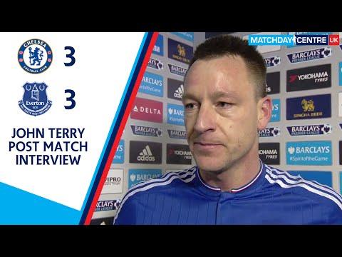 Chelsea 3-3 Everton : John Terry Interview