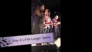 Stay A Little Longer Santa Shemekia Copeland Band Iridium Nyc 12 12 14