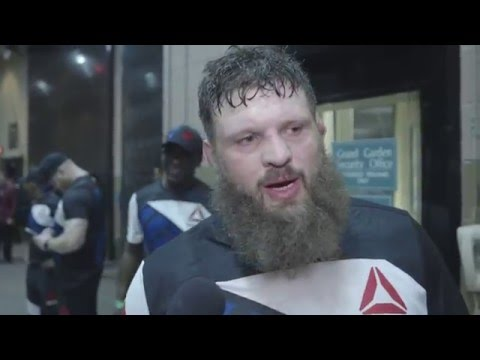Fight Night Las Vegas: Roy Nelson Backstage Interview