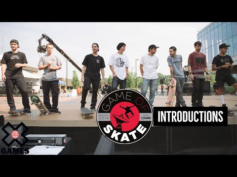 """""""World Of X Games"""" Game of Skate - Tim O'Connor introductions"""