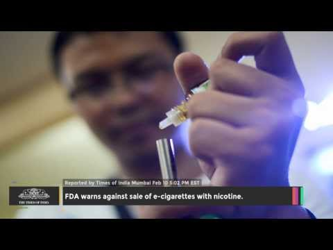 FDA Warns Against Sale Of E-cigarettes With Nicotine