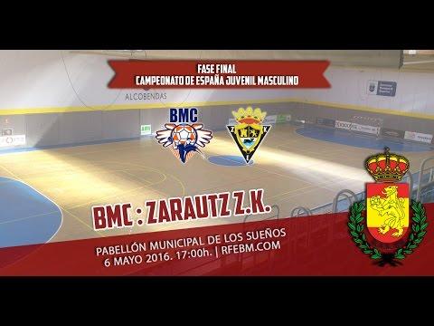 FF CDE Juvenil Masculino | BMC : Zarautz K.E.