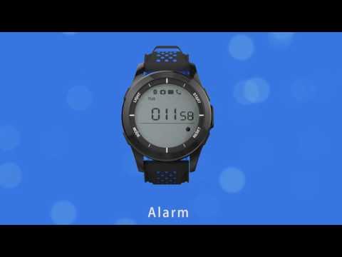 NO.1 F3 IP68 Waterproof long standby time bluetooth 4.0 smartwatch