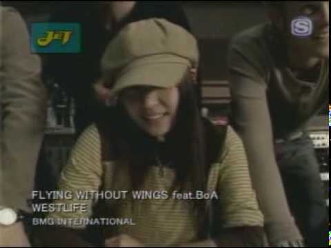 Westlife Ft. Boa - Flying Without Wings video