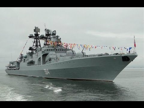 "Большой противолодочный корабль 564 «Адмирал Трибуц» / Anti-submarine ship 564 ""Admiral Tributs"""