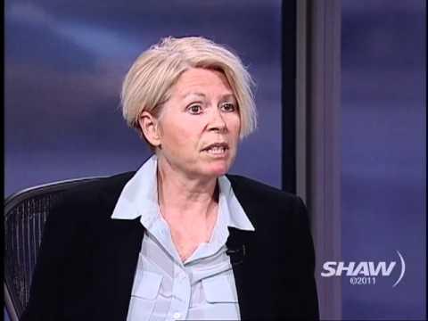 Tracy Porteous on Studio 4 with Host Fanny Kiefer