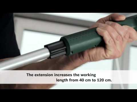 The NEW PPR 250 Electric Paint Roller from Bosch!
