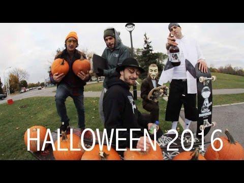 Ethernal Skate Films / Skateboard montage X Halloween Sk8 Jam @ Skatepark Père-Marquette Mtl (1/2)