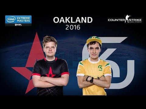 CS:GO - Astralis vs. SK [Train] Map 1 - Semifinal - IEM Oakland 2016