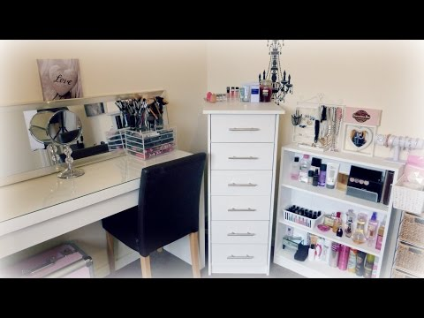 Updated Makeup Collection & Storage