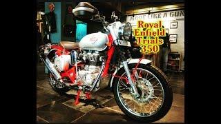 Royal Enfield Bullet Trials 350 2019 Walkaround + Price in Hindi