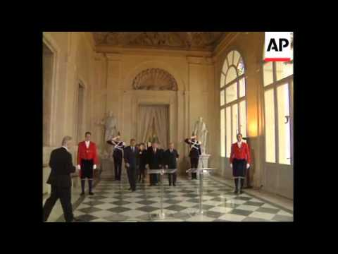 Czech president visits Rome, meets political leaders