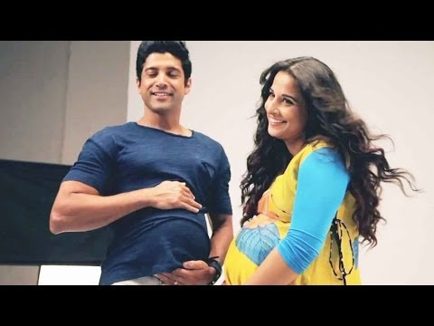 Is Farhan Akhtar Pregnant With Vidya Balan's Baby video