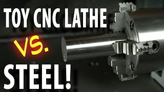 Will the CNC lathe add-on TURN STEEL?