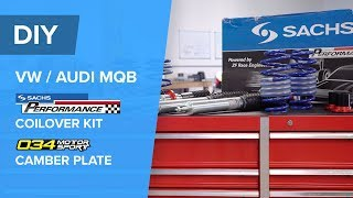 Audi/VW Coilover Kit Installation - SACHS Performance (GTI, Golf R, S3, A3, A3 Quattro)