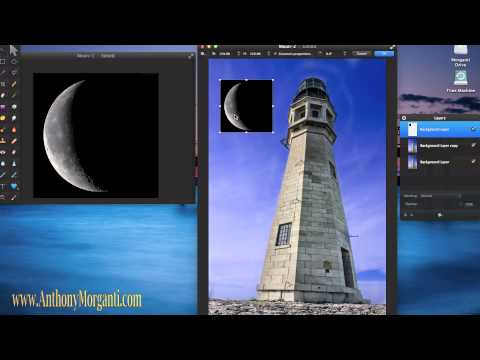 Add The Moon To A Photo Using Pixelmator