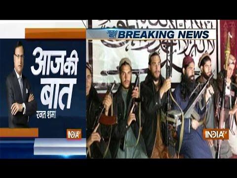Aaj Ki Baat with Rajat Sharma Dec17,2014: Taliban release images of gunmen who killed 132 children