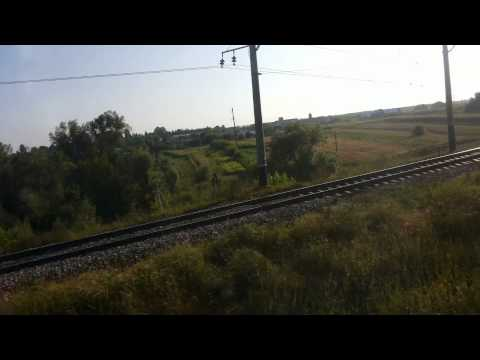 Train way from moscow to kiev and pudabest