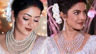 PRIYANKA CHOPRA Delhi RECEPTION LOOK | Indian Bridal Makeup & Hair Tutorial