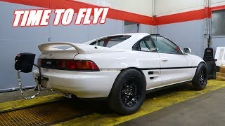 1000Hp Mr2 Gets a Parachute!