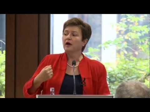 KG - Kristalina Georgieva's visit to Berlin