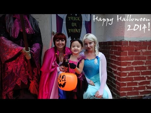 Happy Halloween! Hulyan & Maya's Trick or Treat Fun Activities 2014