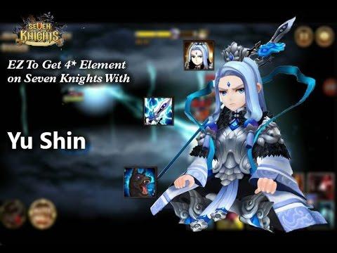 ⚔ EZ Ways to get 4☆ element (Monday) With YuShin Daily Dungeoun Mode Hard Server GA