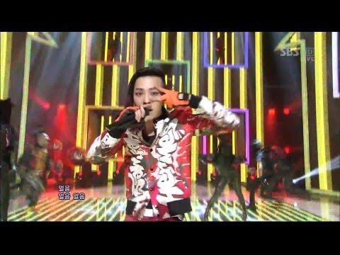 Bigbang 0311 sbs Inkigayo fantastic Baby video