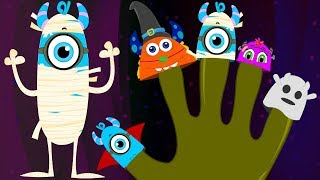 Halloween Finger Family | Momo Beats | Cartoons for Children | Nursery Rhymes And Kids Songs