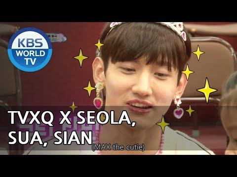 [1ClickScene] Seola,Sua,Sian x TVXQ!!! (TROS, Ep. 224)