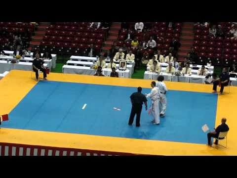 Goderzi Kapanadze vs Boris Perencevic @ 10th World Open Kyokushin Karate Tournament Image 1