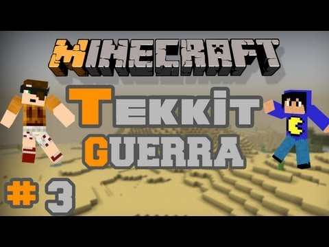 Minecraft Tekkit: Parte 3 - Maldita Chuva!
