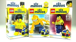 Minions LEGO Minifigures Blind Bag Surprise Toy Opening ЛЕГО Миньоны Минифигурки
