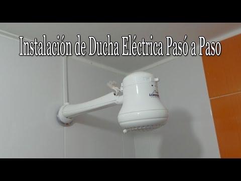 Instalación de ducha eléctrica pasó a paso