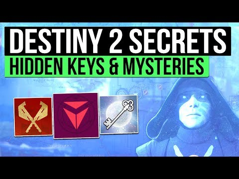 Destiny 2 | SECRETS & MYSTERIES! - Hidden Social Space Loot, Secret Mission Areas, Challenges & More