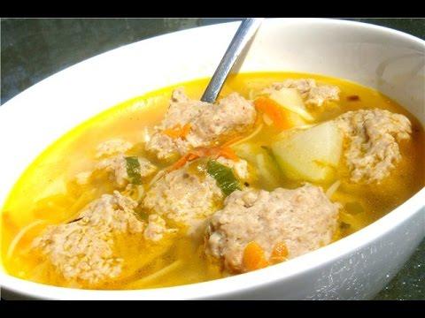 Суп с куриными фрикадельками | Просто вкусно
