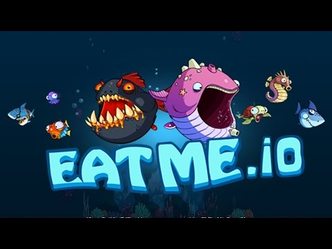 EatMe.io: Hungry Fish Attack! Fun Multiplayer Game - Android / iOS - Gameplay