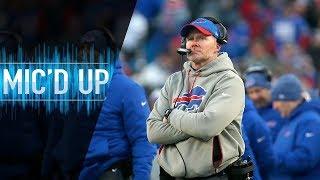 """Sean McDermott Mic'd Up vs. Jets """"LET'S GO!""""   NFL Films"""
