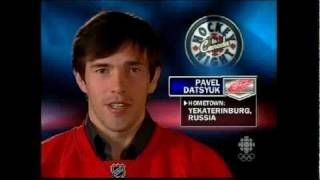 2008 Red Wings name favourite players growing up