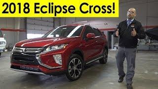 2018 Mitsubishi Eclipse Cross Exterior & Interior Walkaround