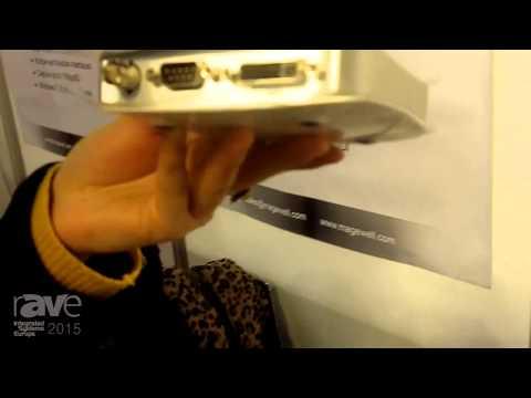 ISE 2015: Magewell Details XI100XUSB-PRO Video Capture Box